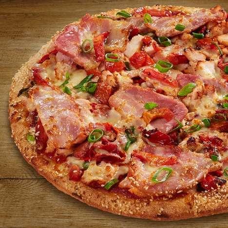 Teriyaki Chicken Pizzas