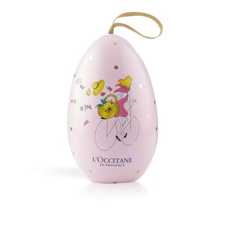 Beauty Product-Filled Eggs - This New L'Occitane Release Celebrates Its Cherry Blossom Line