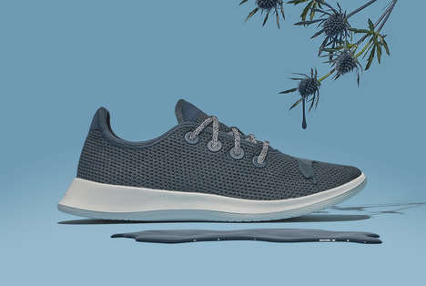 Sustainable Wool Running Shoes - Allbirds Shoe Company Created a New Eucalyptus Pulp Running Shoe