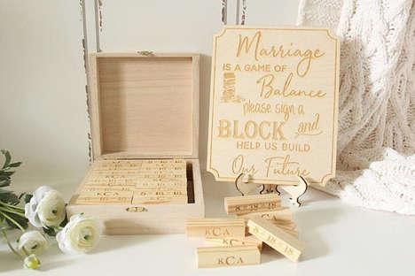 Playful Wedding Guest Books