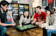 Blockchain-Powered Board Games - The Blok.Party Playtable Uses Modern Tech to Change Classic Games