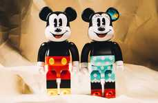 Disney-Themed Bear Figurines