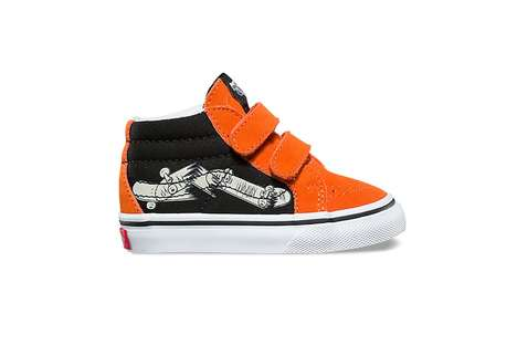 Skateboard-Inspired Kids Shoes
