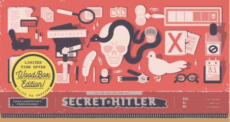Fascist-Hunting Board Games - 'Secret Hitler' is Surprisingly Poignant and Incredibly Fun to Play