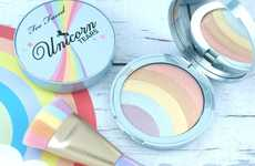 Prismatic Rainbow Highlighters - Too Faced's Rainbow Strobe Highlighter Offers a Multicolored Finish