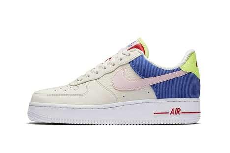 Retro Corduroy Sneakers