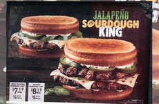 Spicy Sourdough Burgers - Burger King is Selling the New Jalapeño Sourdough King in Kentucky