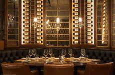 Luxe Diverse Dining Experiences - DesignLSM Designed the Prime Steak House to Elevate Meals