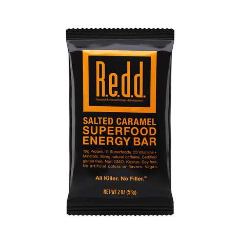 Caffeinated Caramel Energy Bars