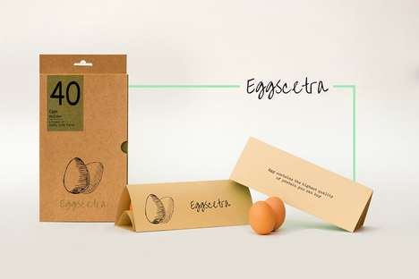 This Conceptual Egg Carton Takes on an Entirely Unique Shape