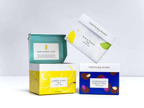 Quirky Tea Flavors - Fortnum & Mason Offers a Tea Collection with Unusual Flavors