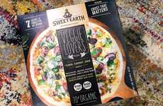 Plant Protein Pizzas - Sweet Earth Foods' Veggie Lovers Pizza Has a Corn, Carrot & Chia Crust