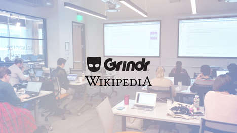 Informative Queer Editing Events - Grindr hosted a queer edit-a-thon at SXSW
