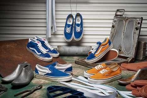 Vintage-Inspired Footwear Capsules