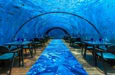 Aquatic Pop-Up Yoga Events - The 5.8 Undersea Restaurant Housed a Mindful Yoga Session