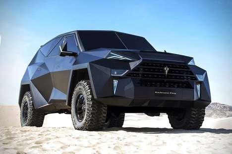 Beastly Geometric SUVs