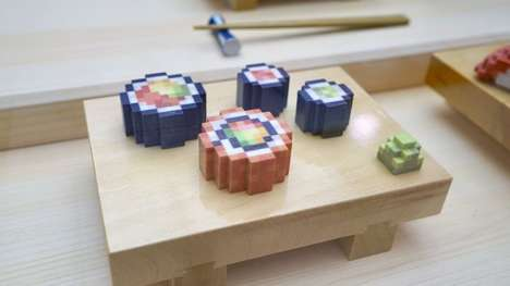 Edible Printed Sushi