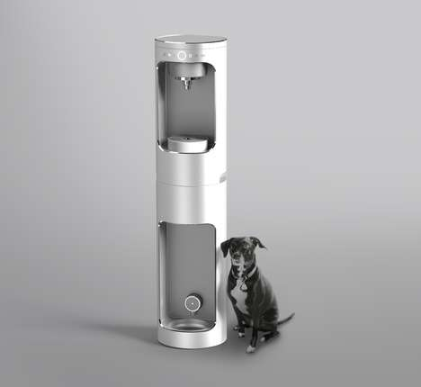 Canine-Friendly Water Purifiers - The 'Double Shot' Water Purifier Offers Fresh H2O for All