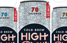 Sparkling Cold Brew Cans - High Brew is Launching a Trio of Sparkling Coffee Beverages