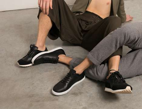Chemical-Free Unisex Footwear - The LABORATORIO LVIII Sneakers are Made with Organic Materials
