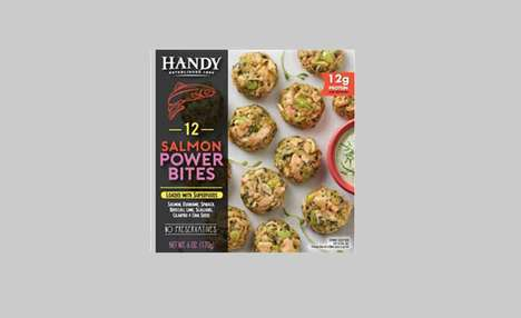 Superfood-Packed Seafood Snacks - These New Handy Seafood Products are Nutritious and Nourishing