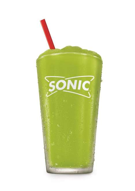 Tangy Pickle Juice Slushies