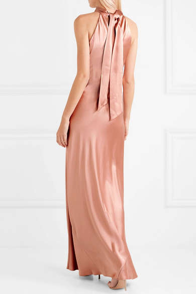 Elegant Silk Maxi Dresses - This Stunning Dress from Galvan is Formal Spring Outings