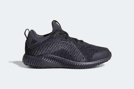 Sleek Dark Kids Sneakers