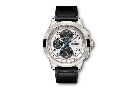 Luxurious Silver-Plated Timepieces - IWC Unveils an Exclusive Ingenieur Chronograph Sport Watch