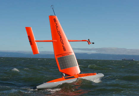 Autonomous Oceanic Drones - The 'Saildrone' Collects Ocean Data in Any Weather Conditions
