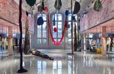 Artist-Designed Fashion Headquarters - Calvin Klein's Paris HQ Features Art from Sterling Ruby