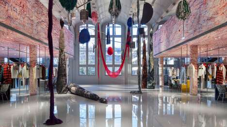 Calvin Klein's Paris HQ Features Art from Sterling Ruby