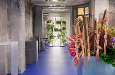 Art-Showcasing Flower Shops - Tableau is a New Architectural Flower Shop in Copenhagen