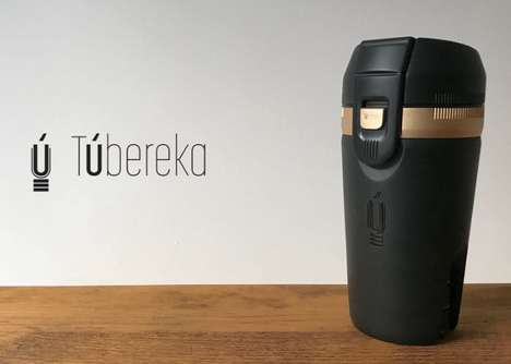 Pod Coffee Mug Brewers - The Oritora 'Túbereka' Coffee Maker Brews in Just 90 Seconds