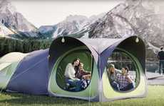 Modular Pop-Up Tents - The Cinch Hub Connects Several Tents Together for Communal Living