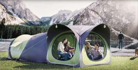 Modular Pop-Up Tents