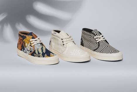 Patterned Footwear Capsules