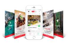 Local Restaurant Exploration Apps - The 'Illume' App Lets You Swipe to Discover What's Around You