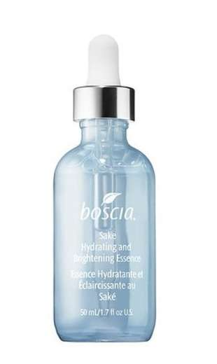 Sake-Infused Face Serums - BOSCIA's Hydrating Sake Essence Improves Dryness, Redness and More
