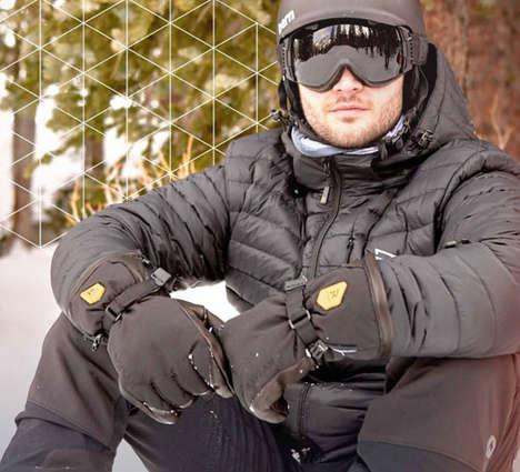Adjustable Heated Winter Gloves