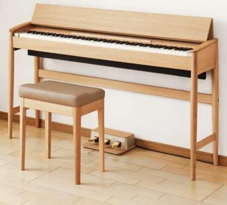 Minimalist Digital Pianos