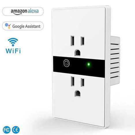 Hardwired Voice Assistant Outlets