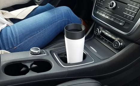 Drip-Free Travel Mugs