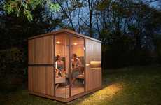 Health-Improving Infrared Saunas
