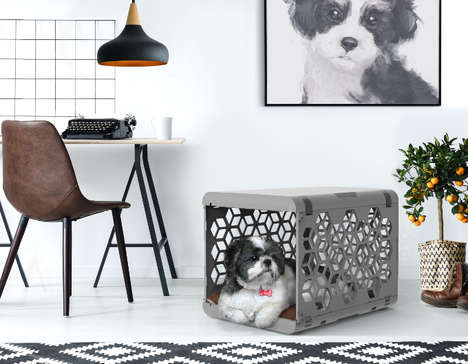 Design-Centric Dog Crates - Chasing Monkey's 'PAWD' Reinvents the Utilitarian Wire Pet Crate