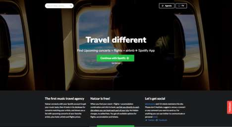 Concert-Focused Travel Apps