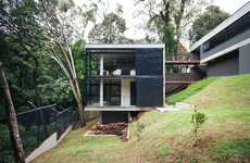 Raw Concrete Jungle Homes - The JJO House Immerses Residents into the Brazilian Forest