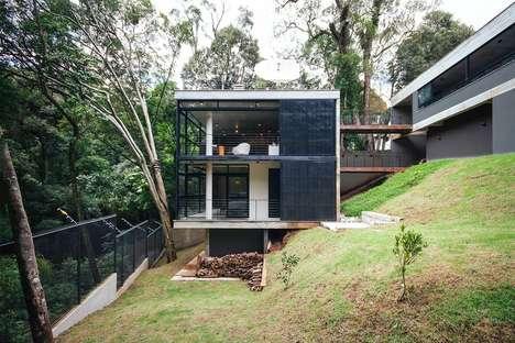 Raw Concrete Jungle Homes