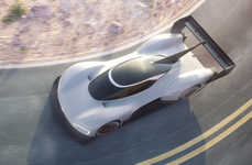 Hill-Climbing Electric Cars - The Volkswagen I.D. R Pikes Peak Hopes to Set New Electric Records