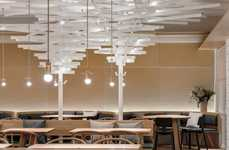Contemporary Warm Bistro Designs